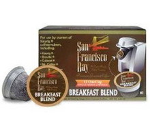 Breakfast Blend, 12 Count, 6 of 4.65 OZ, San Francisco Bay Coffee