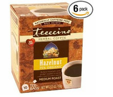 Hazelnut, 6 of 10 BAG, Teeccino