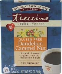 Dandelion Caramel Nut, 6 of 10 BAG, Teeccino
