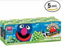 Grover's White Grape, 40 of  125ML, Apple & Eve