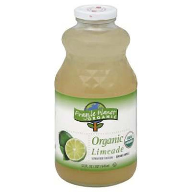 Limeade, 12 of 32 OZ, Fragile Planet Organic