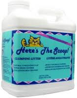 Cat Litter, 10 LB, Here'S The Scoop
