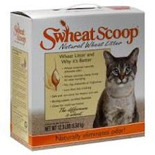 Cat Litter, Scoop, 4 of 12.3 LB, Swheat Scoop