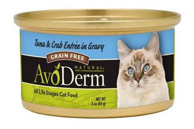 Tuna & Crab Meat, 24 of 3 OZ, Avoderm Natural