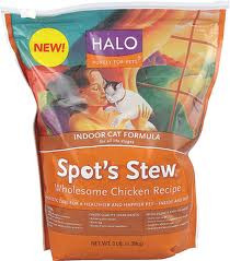 Wholesome Chicken, Indoor Cat, 6 of 3 LB, Halo