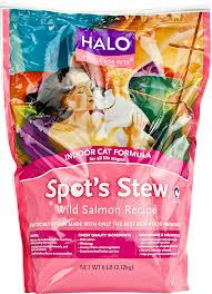 Wild Salmon, Indoor Cat, 4 of 6 LB, Halo