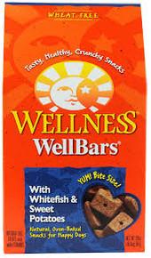 WellBars, Fish & Sweet Potato, 6 of 20 OZ, Wellness