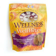 Wellbites, Chicken & Venison, 8 of 8 OZ, Wellness
