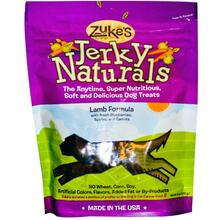 Jerkey Natural Bites, Lamb, 12 of 6 OZ, Zuke'S