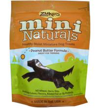 Mini Naturals, Peanut Butter, 12 of 6 OZ, Zuke'S