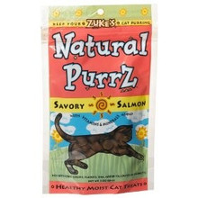 Natural Purrz, Salmon, 12 of 3 OZ, Zuke'S