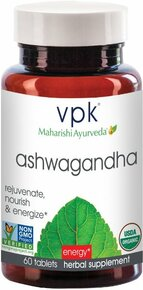 Ashwagandha Tablets 60 TAB By VPK MAHARISHI AYURVEDA