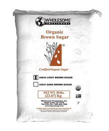 Light Brown Sugar 50 LB From WHOLESOME SWEETENERS