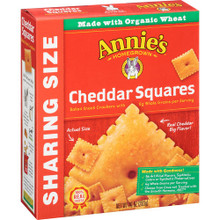 Cheddar Squares Sharing Size 12 of 10 OZ By ANNIE`S HOMEGROWN
