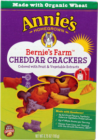 Cheddar Crackers 12 of 6.75 OZ From ANNIE`S HOMEGROWN