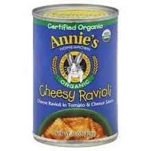 Organic Cheesy Ravioli 12 Pack 15 oz (425 g) From Annie's Homegrown
