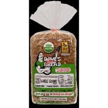 Bread,21 Whole Grain,Thin 10 of 20.5 OZ By DAVES KILLER BREAD