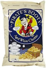 Aged White Cheddar 6 of 10 OZ PIRATE`S BOOTY