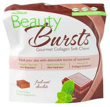 Beauty Bursts Choc/Mint Chew 60 CT Neocell Corporation