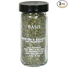 Basil 3 of .4 OZ By MORTON & BASSETT