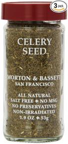 Celery Seed 3 of 1.9 OZ By MORTON & BASSETT