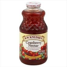 Cranberry Nectar, 12 of 32 OZ, R.W. Knudsen Family