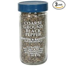 Black Pepper Coarse Ground 3 of 1.8 OZ By MORTON & BASSETT