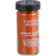Cayenne Pepper 3 of 1.8 OZ By MORTON & BASSETT