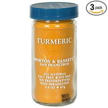 Turmeric 3 of 2.4 OZ By MORTON & BASSETT