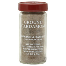 Cardamon Ground 3 of 1.5 OZ By MORTON & BASSETT
