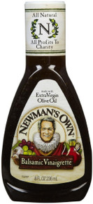 Balsamic Vinaigrette 12 Pack 8 OZ NEWMAN's OWN