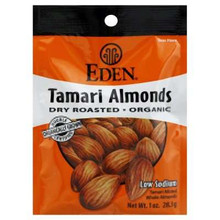Almonds Tamari 12 of 1 OZ EDEN FOODS