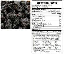 Prunes Pitted 30 lb Dried Fruit