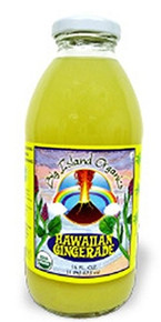 Gingerade, Hawaiian, 12 of 16 OZ, Big Island Organics
