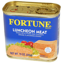 Luncheon Pork & Chicken 12 oz  From Fortune