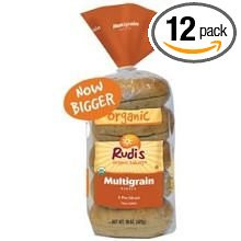 Multigrain 5ct Presliced 12 of 15 OZ By RUDI`S ORGANIC BAKERY
