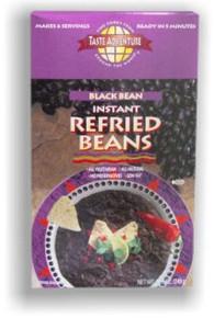Black Refried Beans 6 of 6 OZ By TASTE ADVENTURE