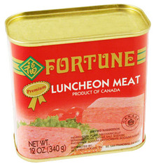 Fortune Luncheon Meat 12 oz  From Fortune