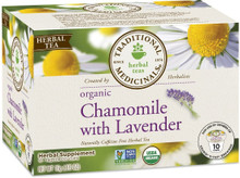 Chamomile w/Lavender 6 of 10 CT From TRADITIONAL MEDICINALS