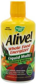 Alive! Liquid 30 OZ NATURE`S WAY