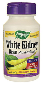 White Kidney Bean 60 VCAP Nature`S Way