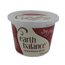 Buttery Spread Soy Free 12 of 15 OZ Earth Balance