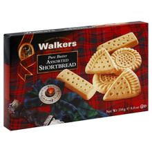 Assorted Selection 6 of 8.8 OZ By WALKER`S SHORTBREAD