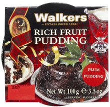 Plum Pudding 24 of 3.5 OZ By WALKER`S SHORTBREAD