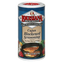 Blackened Fish Seasoning 12 of 2.5 OZ From LOUISIANA FISH FRY