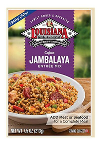 Jambalaya Mix 12 of 7.5 OZ By LOUISIANA FISH FRY
