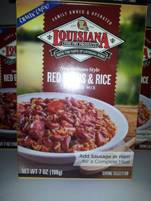 Red Beans & Rice 12 of 7 OZ By LOUISIANA FISH FRY