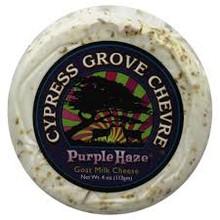 Goat Chevre Disks Purple Haze 12 of 4 OZ Cypress Grove Chevre