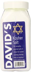 Kosher Salt 6 of 40 OZ From DAVID`S