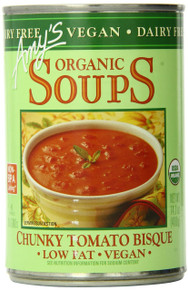 Chunky Tomato Bisque Vegan 12 of 14.1 OZ From AMY`S